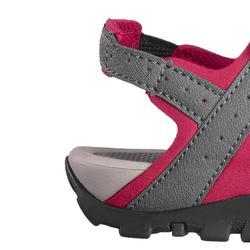 Sandales de randonnée nature NH100 gris rose femme