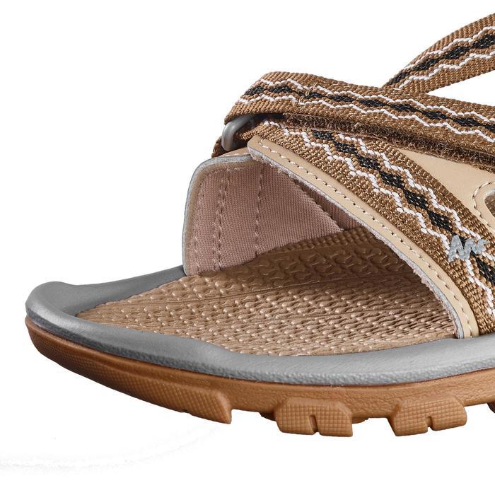 Sandalias de senderismo naturaleza NH110 beige mujer