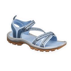女款鄉村健行涼鞋NH110-藍色