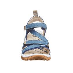 Wandersandalen Naturwandern NH120 Damen Leder blau