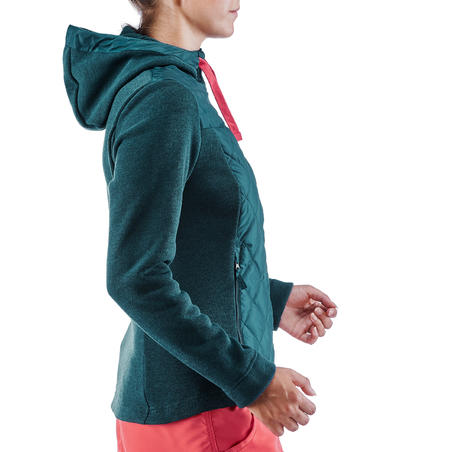 NH100 Hybrid Country Walking Sweatshirt – Women