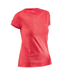 Women's T shirt NH500 - Raspberry