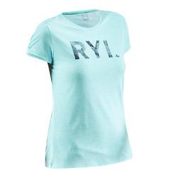Women's T shirt NH500 - Turquoise