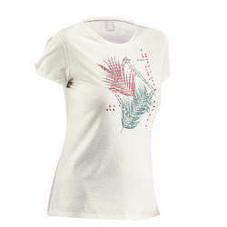 Women's T shirt NH500 - White