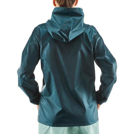 Women's Country Walking Waterproof Jacket Raincut