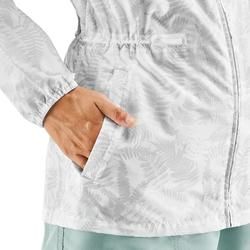 女款郊野健行防雨外套(全開式拉鍊)NH100 Raincut