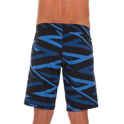 MAILLOT DE BAIN NATATION HOMME SWIMSHORT 100 LONG CROSS NOIR NBJI