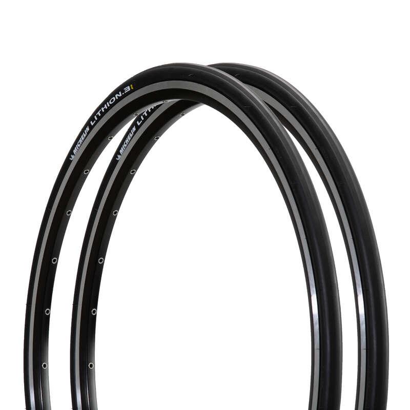 Versenykerékp. gumik Kerékpározás - Lithion 3 700x25, 2 db MICHELIN - Alkatrész, tárolás, karbantartás