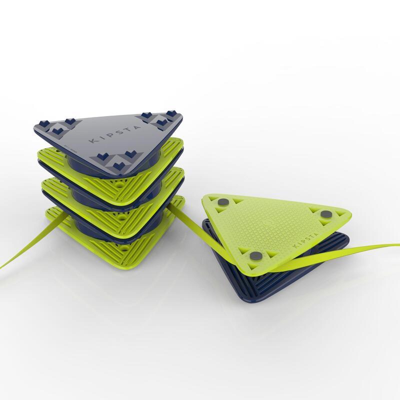 Separator Teren Fotbal Essential Galben-Albastru