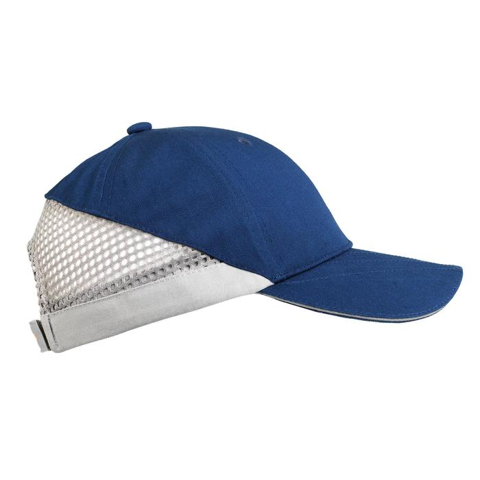Gorra Ball Trap Solognac Clay 100 Azul Gris