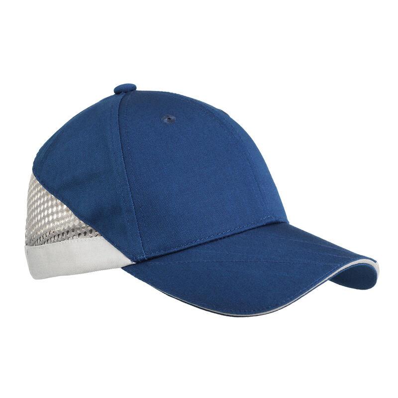 Gorra Ball Trap Solognac Clay 100 Azul Adulto