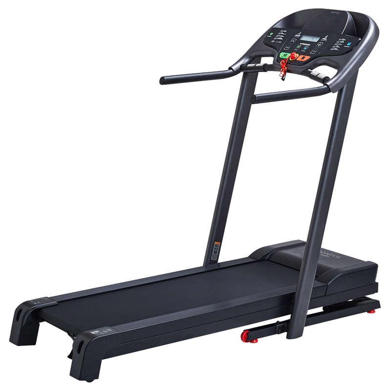 LÖP- ELLER GÅBAND FITNESS CARDIO Fitness - Löpband T520B DOMYOS - Fitnessmaskiner