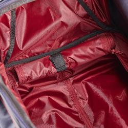 Transporttasche Trolley Reitzubehör 80 l marineblau/bordeaux