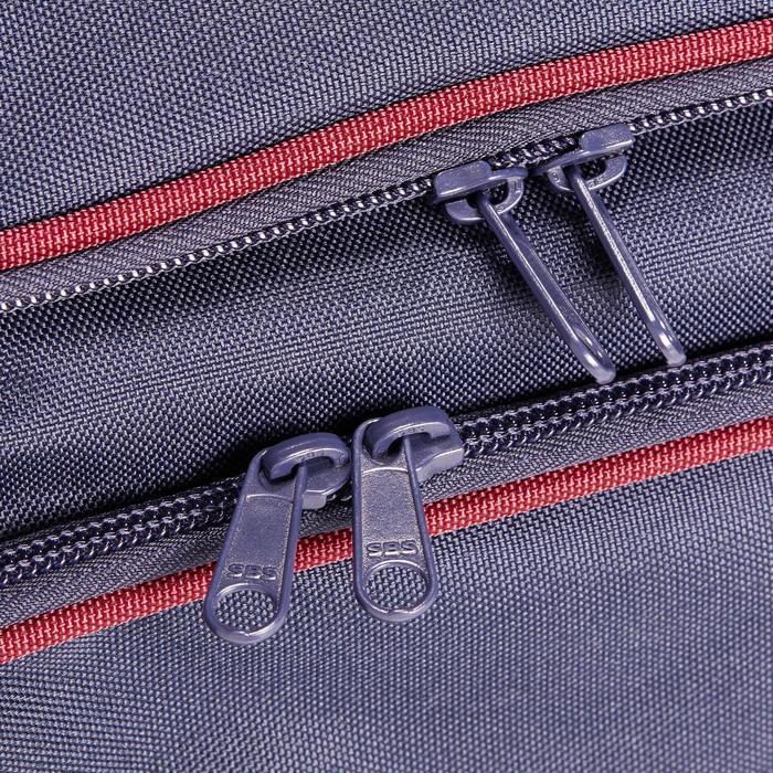 Transporttasche Reitzubehör Duffle 55 l marineblau/bordeaux