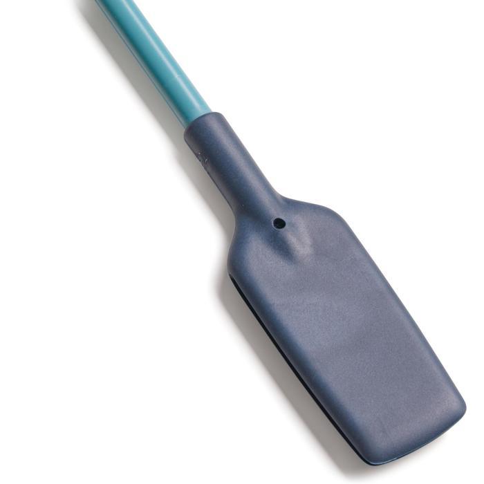 Fusta para equitación 500 azul y gris - 58 cm