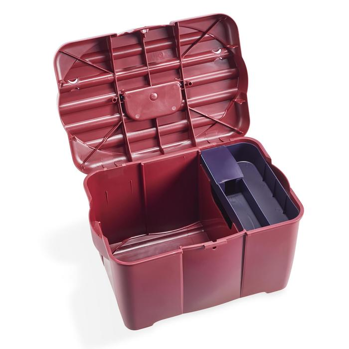 Verzorgingsbox 700 ruitersport bordeaux