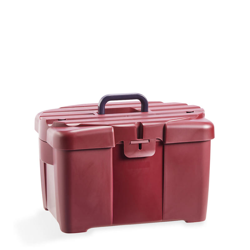 Horse Riding Grooming Box 700 - Burgundy