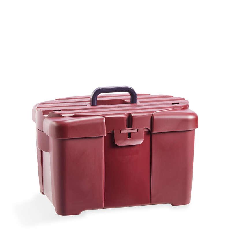 RYKTNING Ridsport - Ryktlåda 700 vinröd FOUGANZA - Ryktningsmaterial