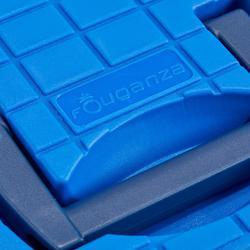 Caja Limpieza Equitación Fouganza 500 Azul Elérctrico