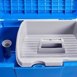 Putzkasten 500 Reiten electric blue/marineblau