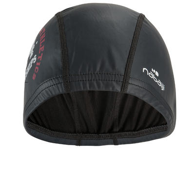 COATED MESH SWIM CAP - SHIPS GREY