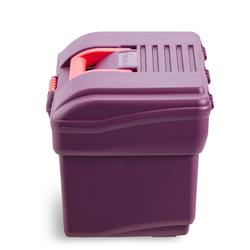 Verzorgingsbox ruitersport 300 paars