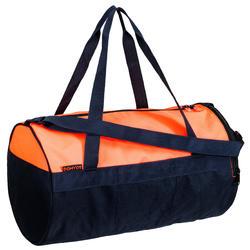 Bolsa de deportes gimnasio Cardio Fitness Domyos 20 litros coral negro