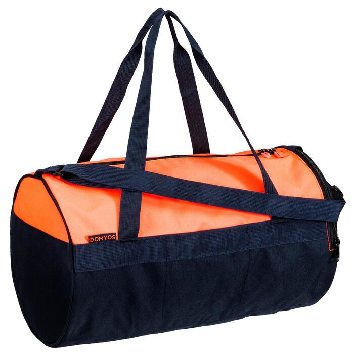 Bolsa fitness cardio-training 20 litros coral y azul