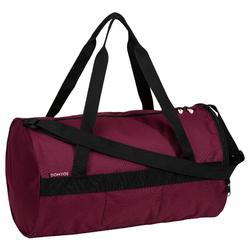 Sac de fitness 20 L bordeaux