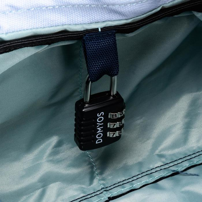 Bolsa fitness cardio-training 20 litros caqui y azul