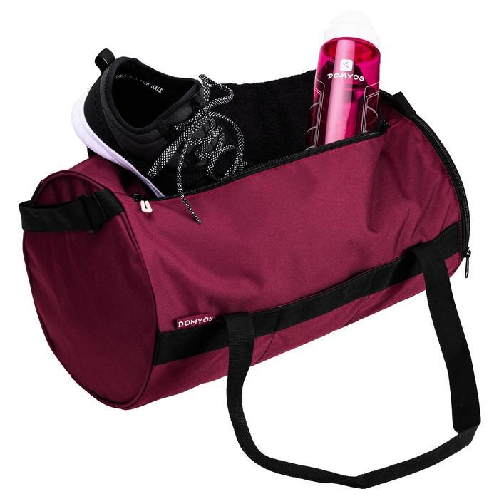 Bolsa fitness cardio-training 20 litros burdeos