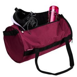 Tas voor cardiofitness 20 liter bordeaux