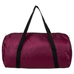 Sac de fitness pliable 30L bordeaux