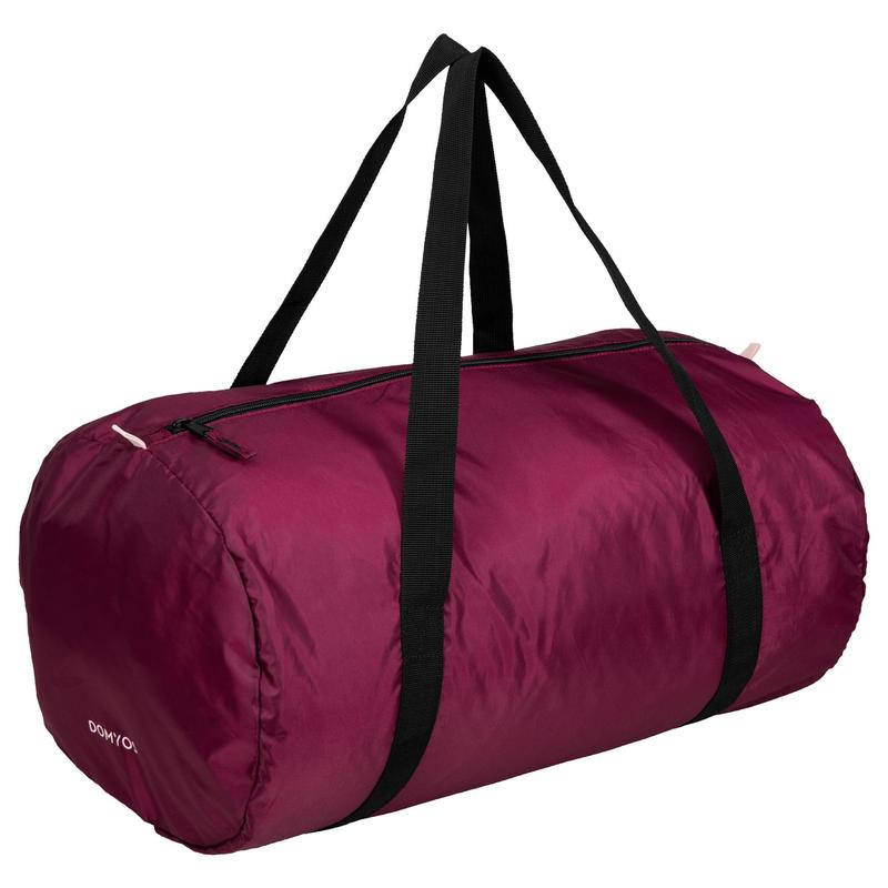 Sac cardio fitness training pliable 30L bordeaux