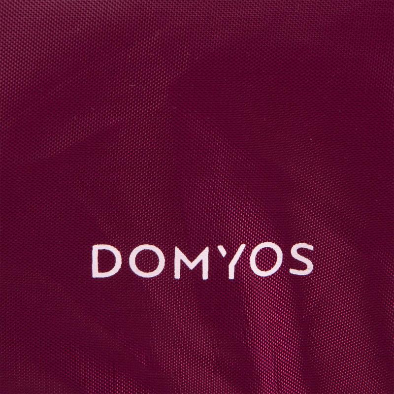 Fold-Down Fitness Bag 30L - Burgundy