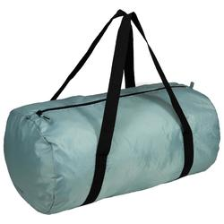 Bolsa fitness cardio-training plegable 30 L verde gris