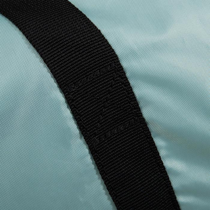Sporttasche Fitness Cardio-/Fitnesstraining faltbar 30l grau/grün