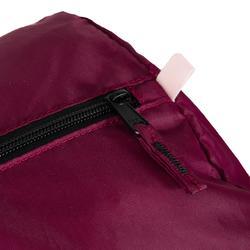 Opvouwbare tas voor cardiofitness 30 liter bordeaux