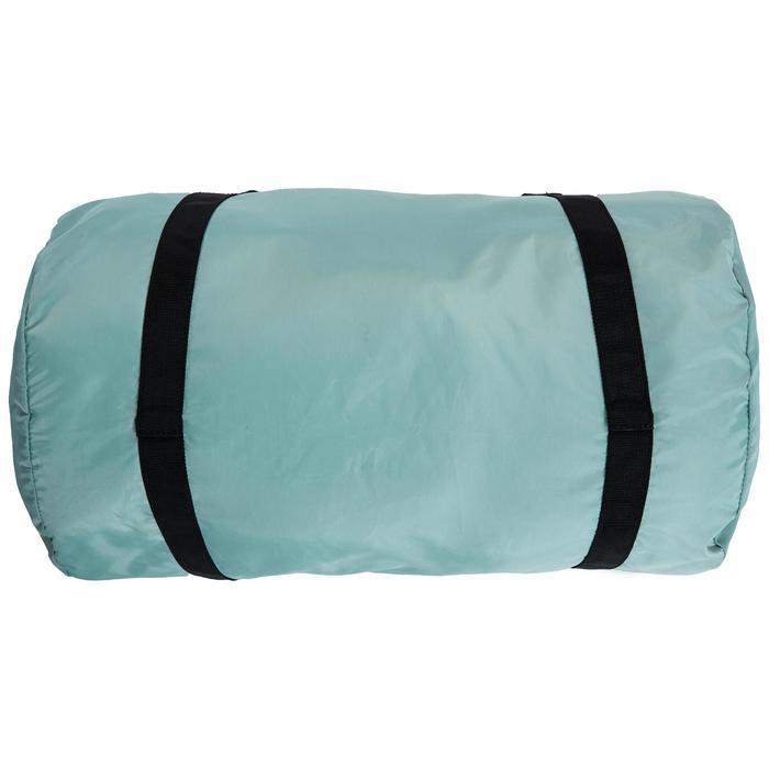 Bolsa fitness cardio-training plegable 30 L verde gris