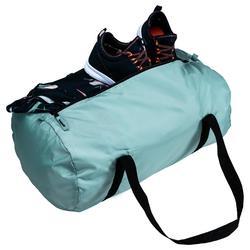 Bolsa de deporte plegable petate Cardio Fitness Domyos 30 litros verde