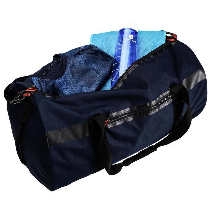 Sporttas fitness 55 liter, blauw