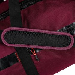Sac de fitness 55 L bordeaux