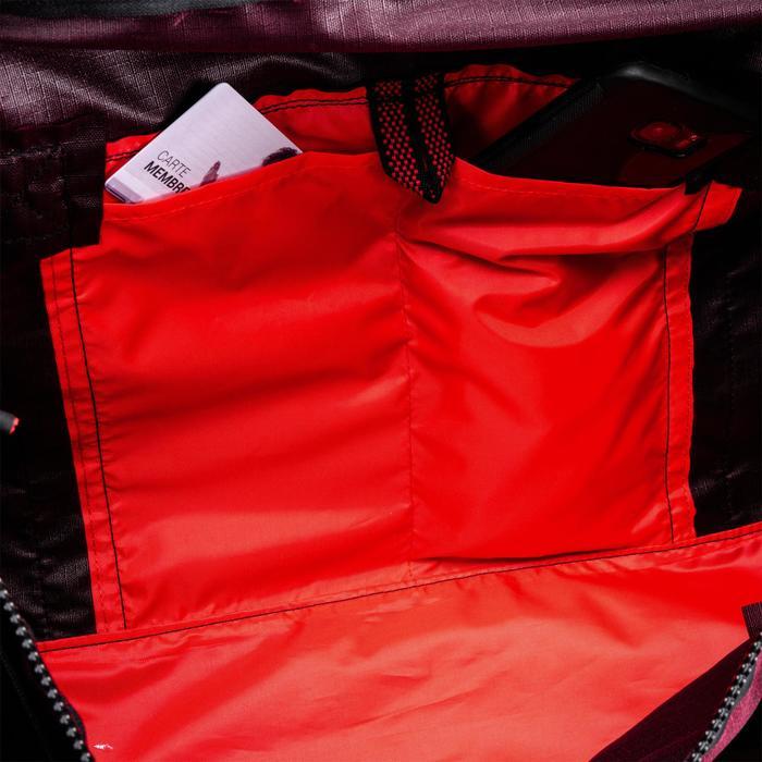 Tas voor cardiofitness 55 liter bordeaux
