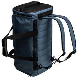 Bolsa de deportes gimnasio Cardio Fitness Domyos 40 litros negro gris
