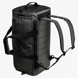 Bolsa fitness cardio-training 40 L negro caqui