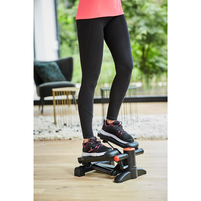Stepper Cardio Fitness Domyos MS100 negro rojo