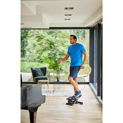 Stepper Cardio Fitness Domyos MS100 negro rojo