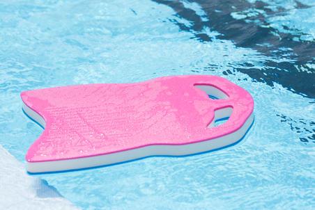 קרש שחייה גדול - כחול ורוד