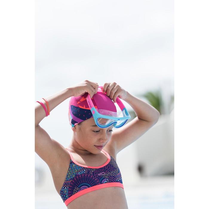 Bikini meiskes Riana Skirt Eve roze groen