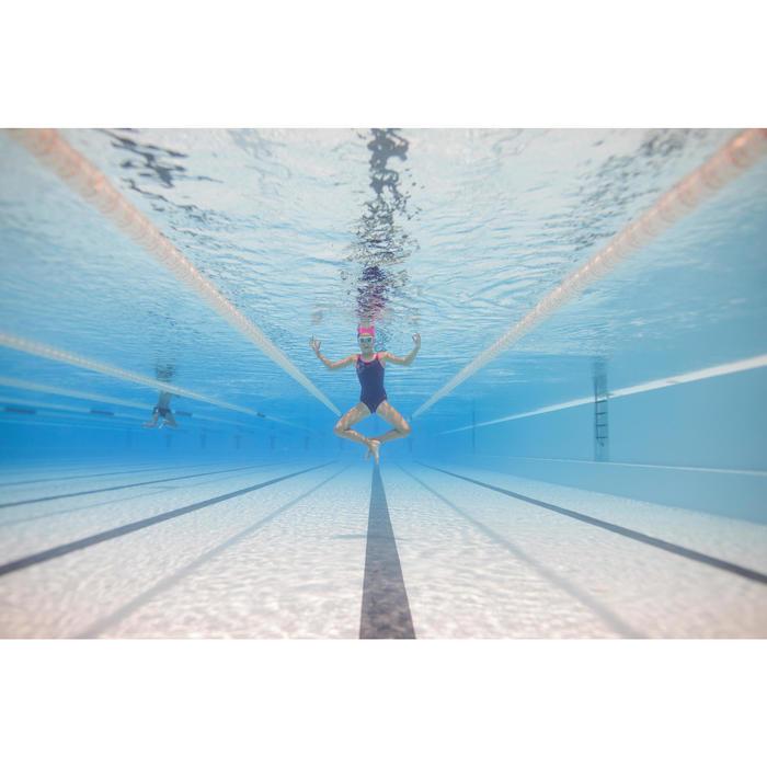 Masque de natation 100 SWIMDOW Taille S Bleu Rose